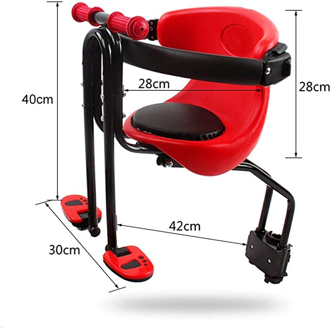 Blentude Safety Child Seat For Front Seats Of Bike With Armrests