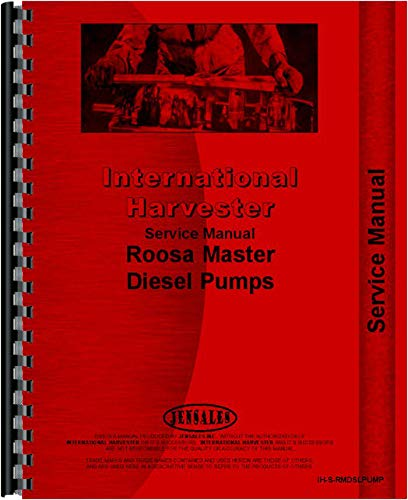 Amazon com: International Harvester TD6 Crawler Diesel Pump