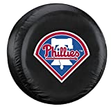 Philadelphia Phillies Black Logo Tire Cover