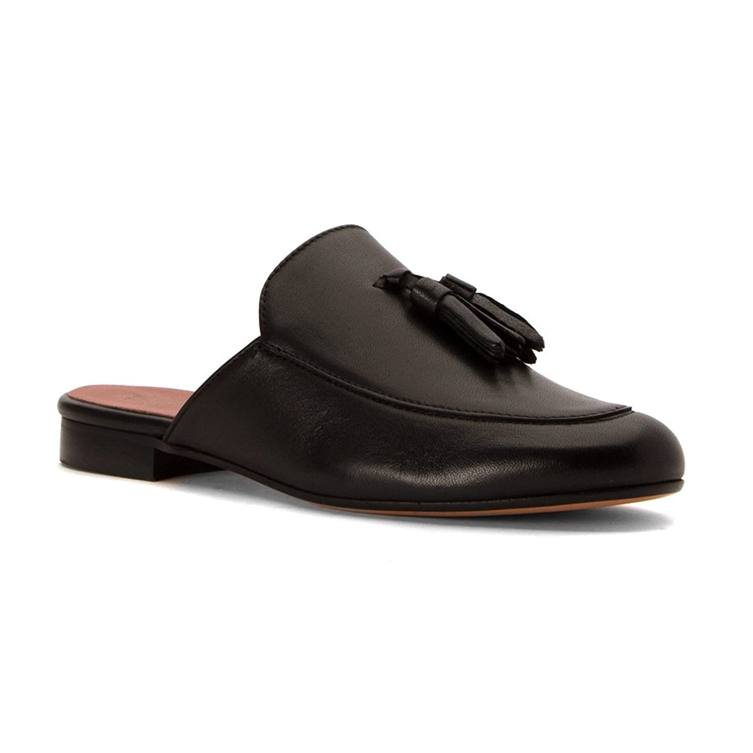d1017ee63893 Summit by White Mountain Women s Anelie Black Leather Clog Mule 40 M ...