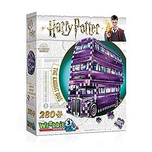 Wrebbit 3d W3d 0507 The Knight Bus Harry Potter Il Prigioniero Di Azkaban Ritter Von Wrebbit Puzzle 280 Pezzi 26 X 7 X 19 Cm