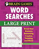 Brain Games: Word Searches (Large Print pink cover)