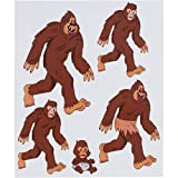 Bigfoot Sticker Family – Full Color – Sasquatch Sticker - Bigfoot Decal for cars, skateboards, laptops - Bigfoot Vinyl Decals – Funny Sasquatch Sticker – Bigfoot Yeti Decal Funny Bigfoot Family Decals