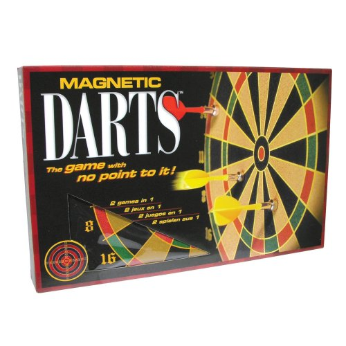 Family Games Portable Magnetic Dart Game ()