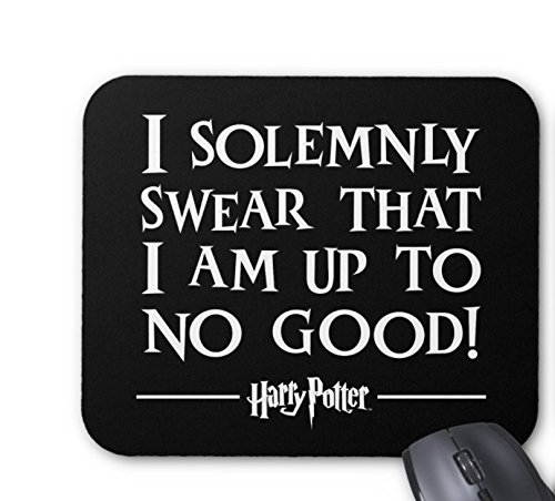 Harry Potter Spell | I Solemnly Swear Mouse pad 7x8.66 inch