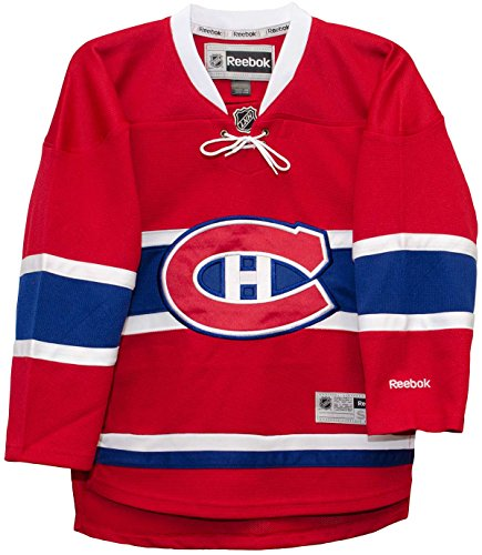 Montreal Canadiens Hockey Jersey (Montreal Canadiens 2015 Home Red Reebok Premier Youth Jersey (S/M))