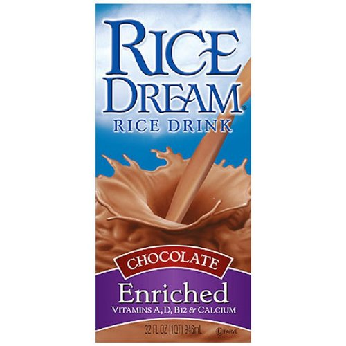 Rice Dream Rice Drink, Chocolate, 32 Ounce (Pack of 12) by Imagine