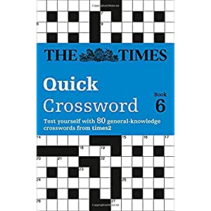 The Times T2 Crossword Book 6: The Best General Crossword in the World (Bk.6)