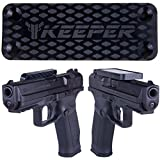 Magnetic Gun Mount & Holster For Vehicle And Home - HQ Rubber Coated 35 Lbs Rated - Firearm Accessory. Concealed Holder For Handgun, Rifle, Shotgun, Pistol, Revolver, Truck, Car, Wall, Vault, Desk...