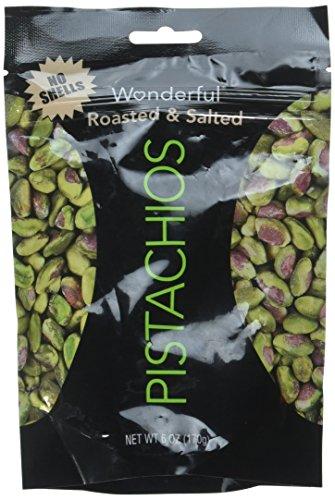 Wonderful Shelled Pistachios Roasted & Salted 6 (Wonderful Shelled Pistachios)