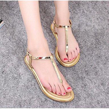 SHOES-XJIH&Donna Sandali Club scarpe in pelle di brevetto abiti estivi Rhinestone Stiletto Heel Bianco Nero 4A-4 3/4in,Bianco,US8.5 / EU39 / UK6.5 / CN40