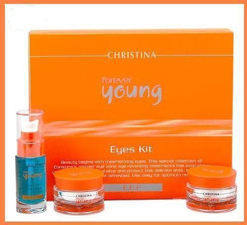 Christina cosmetics - Forever Young Eye Eyes Kit / Anti Aging - 3 Products