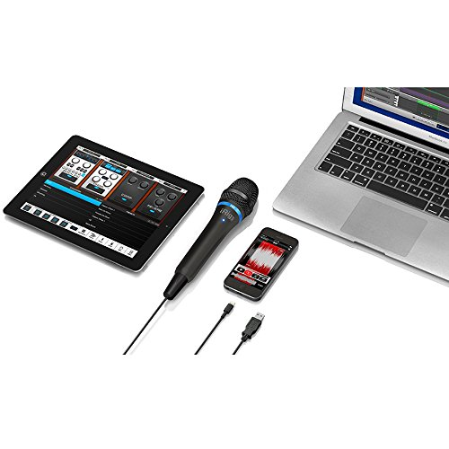 IK Multimedia iRig Mic HD high-definition handheld microphone for iPhone, iPad and Mac (black) by IK Multimedia (Image #5)