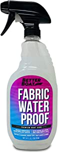 New Waterproofing Spray Fabric Protector Spray for Marine Canvas Boat Tops, Vinyl Seats and Tent Water Proof