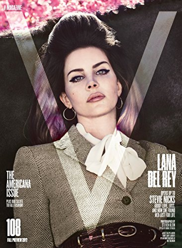 V Magazine Issue 108 (Fall Preview 2017) Lana Del Rey Cover
