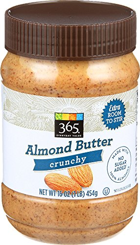 365 Everyday Value, Almond Butter Crunchy, 16 oz