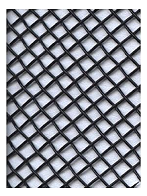Amaco WireForm Metal Mesh black coated aluminum woven modeler's mesh - 8 mesh mini-pack from Amaco