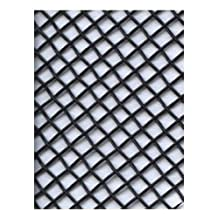 Amaco WireForm Metal Mesh black coated aluminum woven modeler's mesh - 8 mesh mini-pack [PACK OF 2 ]