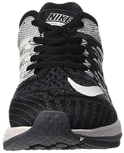 Nike Womens Air Zoom Elite 8 Scarpa Da Corsa Nero / Grigio Lupo / Grigio Scuro / Bianco