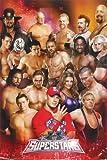 WWE POSTER Superstars - Amazing RARE HOT NEW 24x36