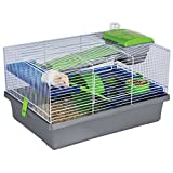 Pico Silver & Green - Hamster & Small Animal Home/Cage