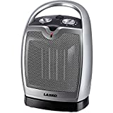Lasko 1500 Watt PERSONAL Oscillating Ceramic Heater with Automatic Overheating Protection and Large Carrying Handle