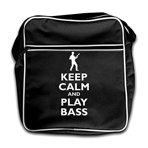 Bass Retro Guitar Calm Bag black Play Keep And Black Flight Cpwgtpqa