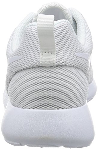 Nike Roshe One, Baskets Femme Blanc (White/white-pure Platinum)