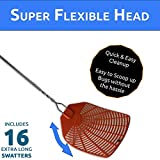 Bug & Fly Swatter – Extra Long Handle 16 Pack Fly