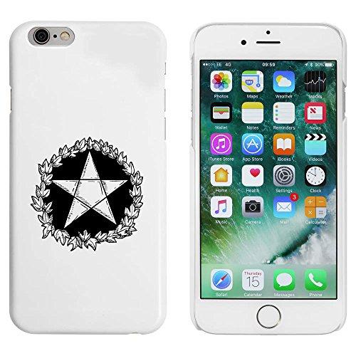 Weiß 'Pentagram Motiv' Hülle für iPhone 6 u. 6s (MC00001070)