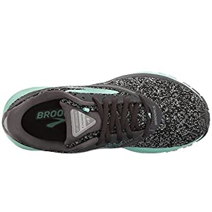 Brooks Women's Launch 4 Anthracite/Beach Glass/Silver 10 B US