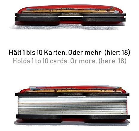(Cartera minimalista, tarjetero delgado para hombres, billetera eficiente RFID mini): Amazon.es: Equipaje
