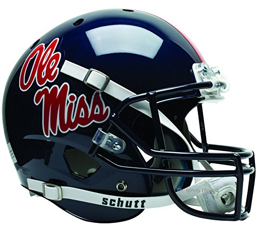 Mississippi (Ole Miss) Rebels Officially Licensed Full Size XP Replica Football Helmet