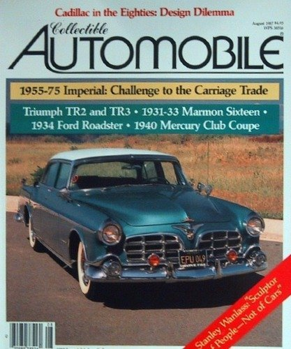 Collectible Club Coupe - Collectible Automobile August 1987, Volume 4 Number 2