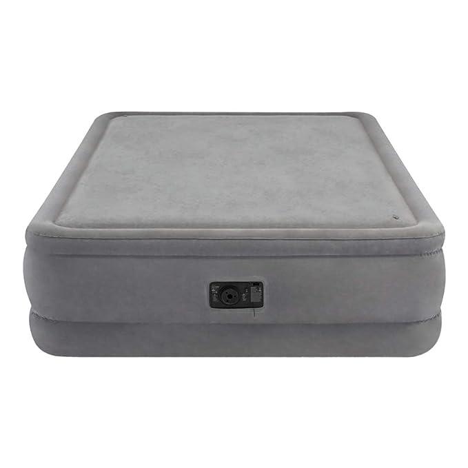 Intex 64470 - Colchón hinchable PremAire Plus & espuma 152 x 203 x 51 cm: Amazon.es: Hogar