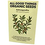 Ashwagandha Root Seeds (~80) by All Good Things Organic Seeds: Certified Organic, Non-GMO, Heirloom, Open Pollinated Seeds from the United States