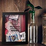 TicketShadowBox - 8x10 Memento Frame - Large Slot