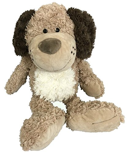 Dog Soft Plush Toy - Stuffed Animal Dog Plush Toy | Soft Cute Brown Puppy Dog | Softest, Cutest Stuffed Dog Adorable For Dog Themed Bedroom And Sure To Become Your Kids Best Friend