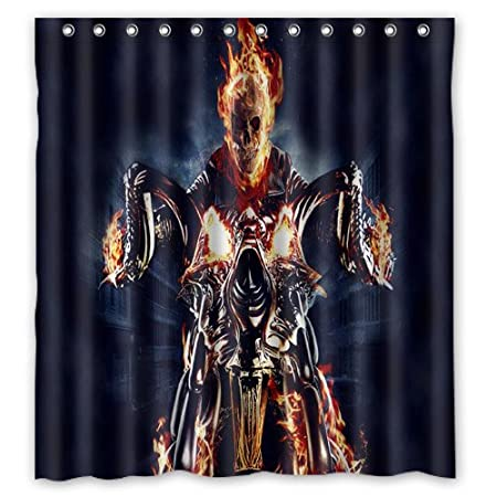 66 Quotx72quot Ghost Rider Nicolas Cage Shower Curtain