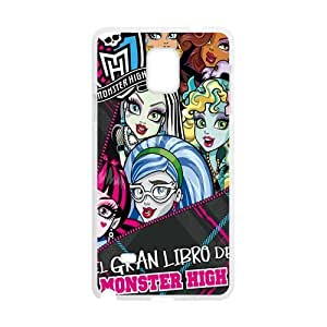 Cartoon Monster High Plastic Protective Case Slim Fit for SamSung Galaxy Note 4