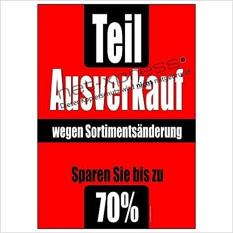 Net-Xpress Räumungsverkauf-plakat Sortimentsbereinigung A1 ...