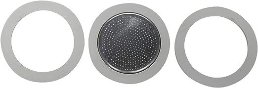 Bialetti 0800009 pieza y accesorio para cafetera - Filtro de café (Filtro de café, Acero inoxidable, Blanco, Metal, 1 pieza(s)): Amazon.es: Hogar