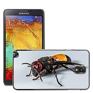Cas Coq Case Cover // M00147279 Hornet avispa insectos Cerrar // Samsung Galaxy Note 3 III N9000 N9002 N9005