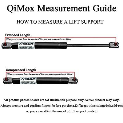 Qty(2) QiMox Front Hood Lift Supports Shock Struts for 2006-2013 BMW 3 Series E90 E91 E92 E93: Automotive