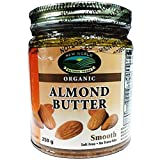 New World Foods Almond Butter, Smooth Raw Almond Organic 250g
