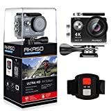 AKASO 4K WIFI Sports Action Camera Ultra HD Waterproof DV Camcorder 12MP Degree Wide Angle EK7000 170
