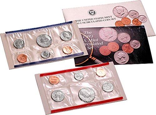 1989 U.S. Mint Set - 10 coin set ()