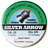 Beeman Silver Arrow,Pointed Airgun Pellets .22 Caliber / 17.13 Grains (200 Count)