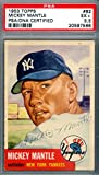 Mickey Mantle Signed Autograph 1953 Topps Card #82 New York Yankees Vintage 1953 Era Signature Card Graded 5.5 - PSA/DNA Certified
