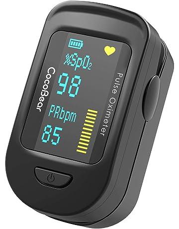 Oxímetro de Pulso, CocoBear Pulsioxímetro con Pantalla OLED, Oxímetro con función de alarma,